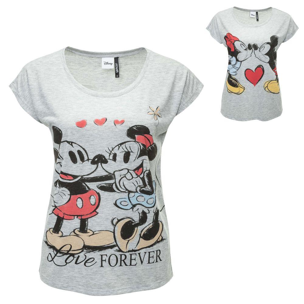 hailys damen t shirt print shirt disney comic longshirt. Black Bedroom Furniture Sets. Home Design Ideas