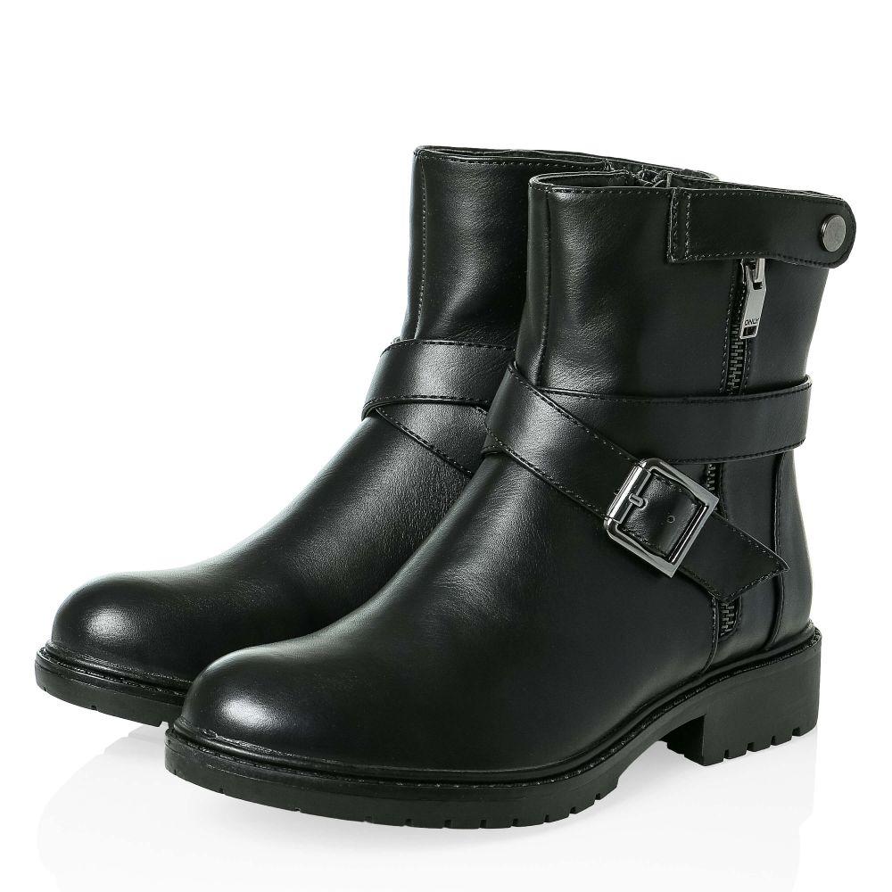 only damen stiefeletten stiefel boots biker halbhohe. Black Bedroom Furniture Sets. Home Design Ideas