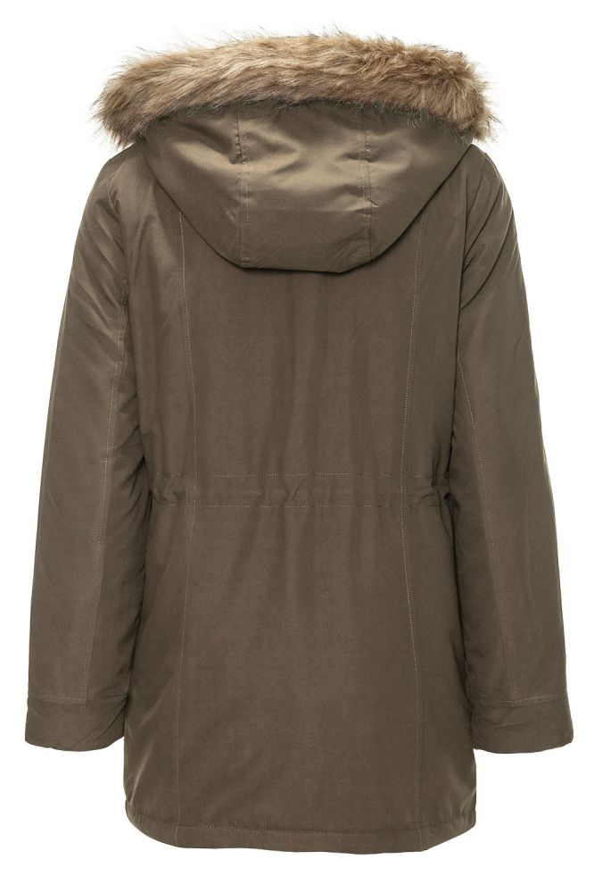 vero moda damen wintermantel kurzmantel bergangs winter mantel winterjacke ebay. Black Bedroom Furniture Sets. Home Design Ideas