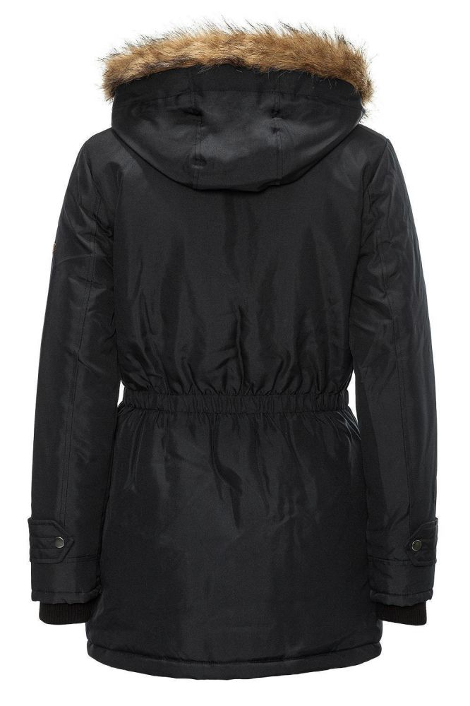 vero moda damen parka winterjacke jacke winter jacket expedition schwarz wow 40 ebay. Black Bedroom Furniture Sets. Home Design Ideas