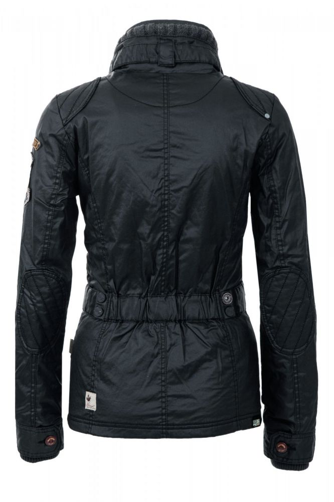 neu khujo damen winterjacke damenjacke jacket outdoor cotton navy wow 20 sale ebay. Black Bedroom Furniture Sets. Home Design Ideas