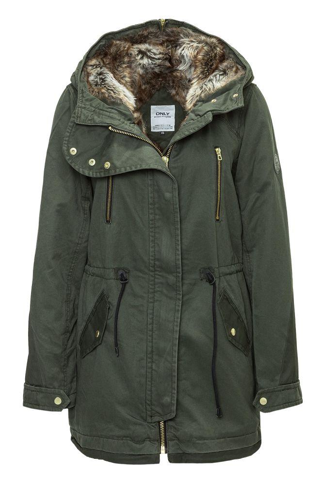 only damen parka wintermantel winterjacke damenparka kapuze coat jacket wow ebay. Black Bedroom Furniture Sets. Home Design Ideas