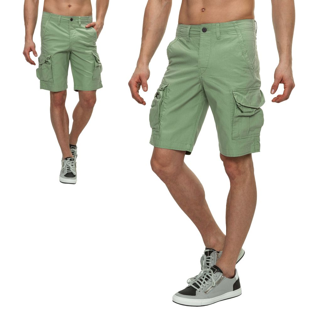 neu jack jones herren cargo shorts kurze hose bermuda classic shorts sale ebay. Black Bedroom Furniture Sets. Home Design Ideas