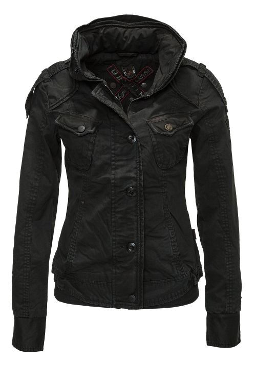 neu khujo damen bergangsjacke jacke austin women between seasons jacket ebay. Black Bedroom Furniture Sets. Home Design Ideas