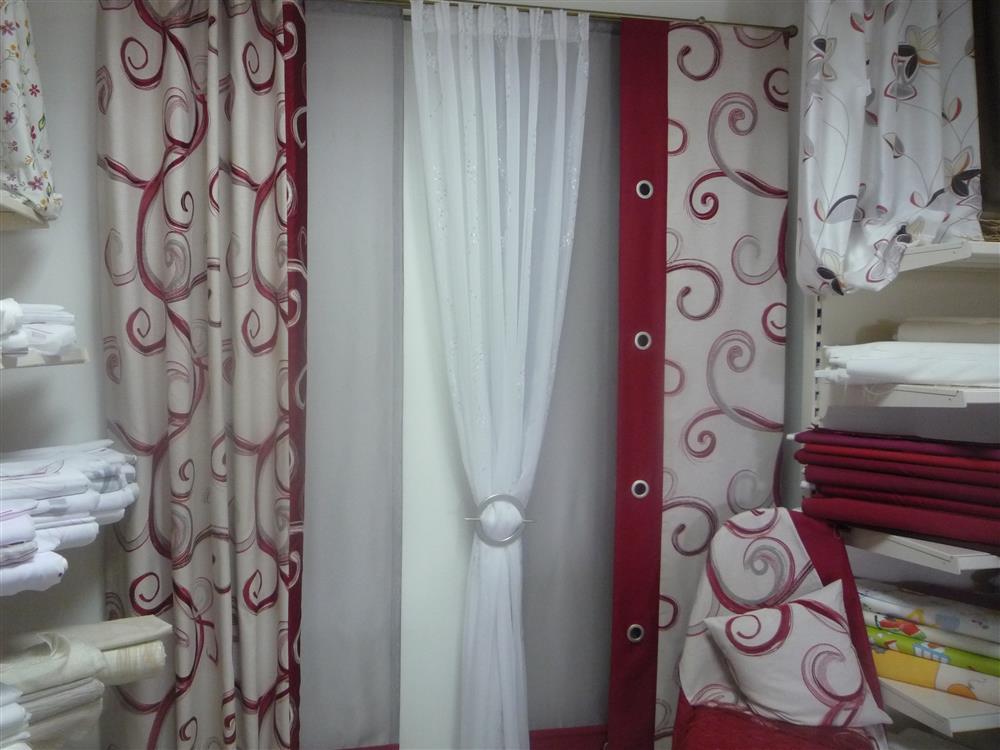 musterfenster m senschal 2 fl chen store fl chengardine. Black Bedroom Furniture Sets. Home Design Ideas