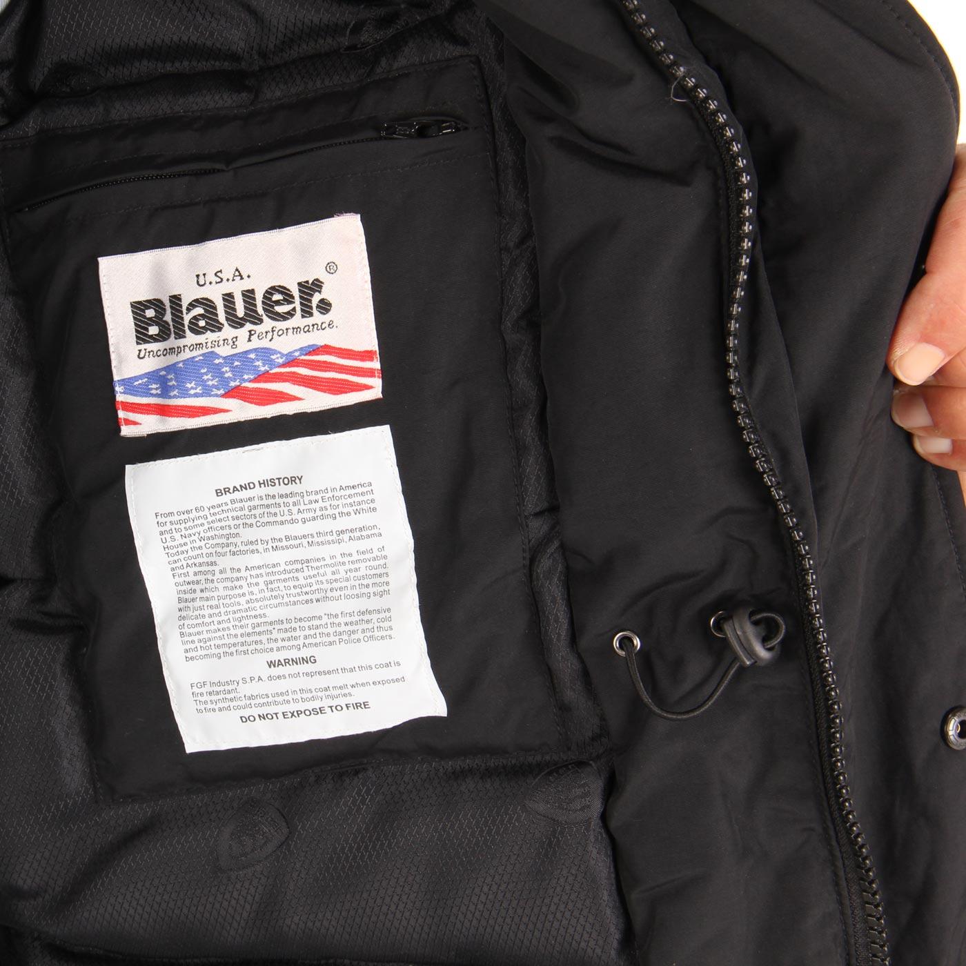 blauer usa herren 2 in 1 field jacke black blu0413 2 wahl. Black Bedroom Furniture Sets. Home Design Ideas