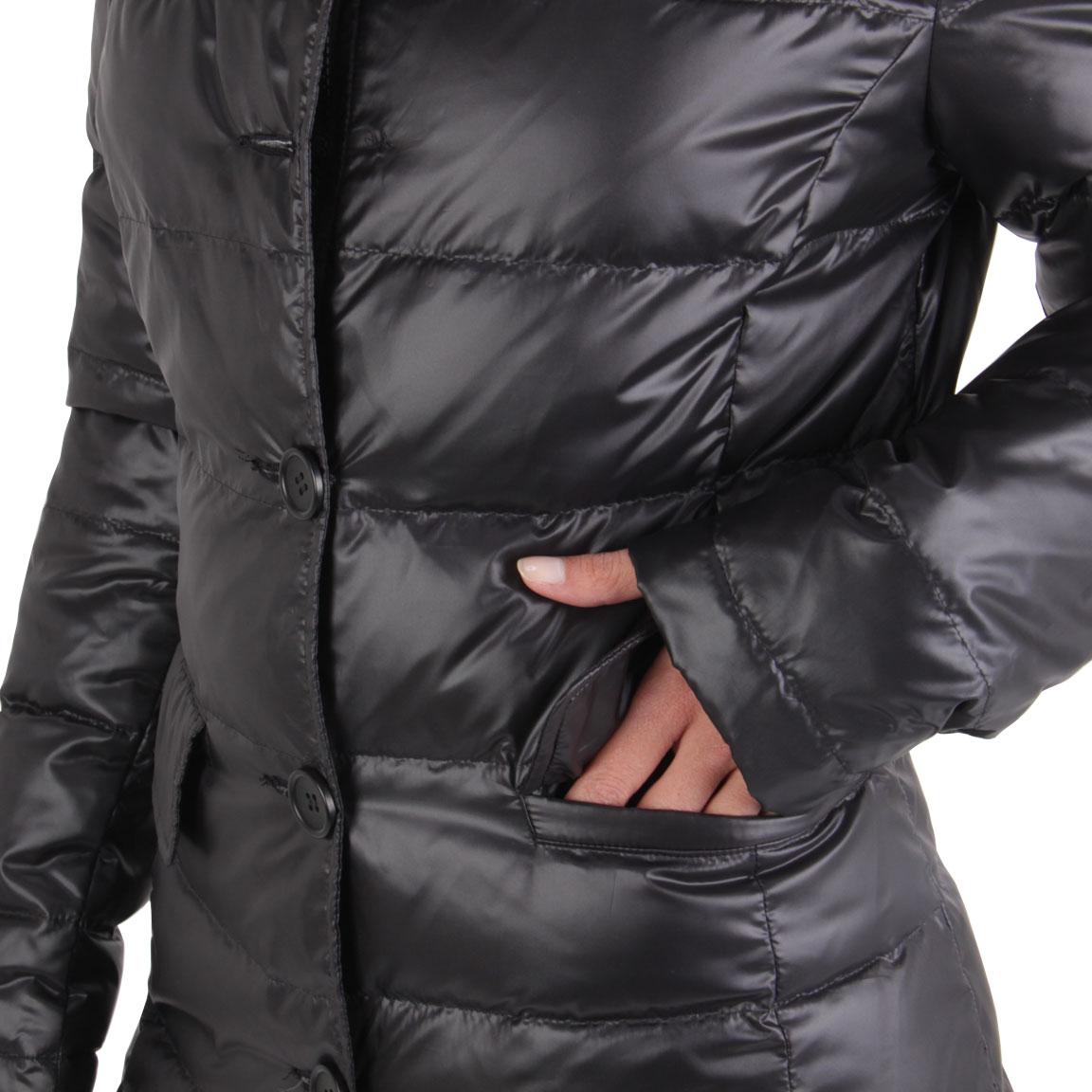 bpd by blauer usa damen winter daunen mantel jacke black bpd0034 gr e s ebay. Black Bedroom Furniture Sets. Home Design Ideas
