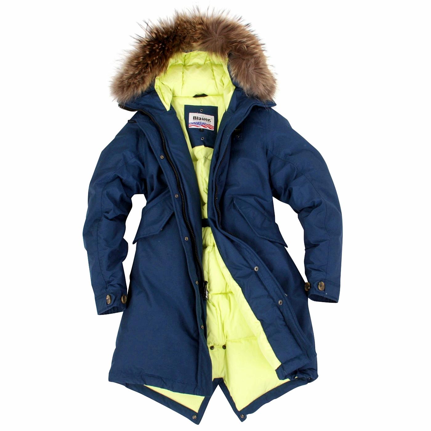 blauer usa damen winter daunen parka mantel jacke limited blue bld03045 ebay. Black Bedroom Furniture Sets. Home Design Ideas