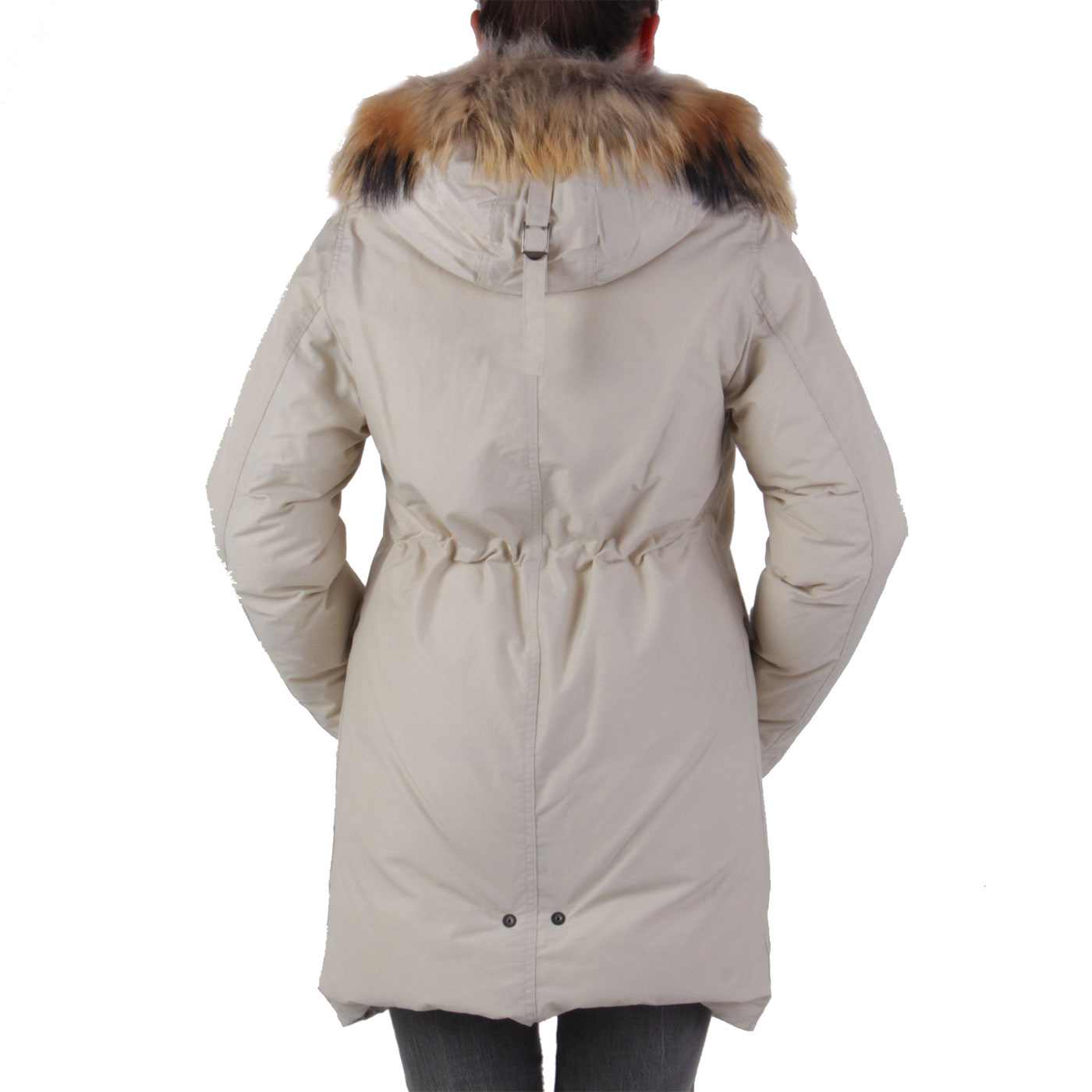blauer usa damen winter daunen parka mantel jacke limited beige bld03045 gr e s ebay. Black Bedroom Furniture Sets. Home Design Ideas