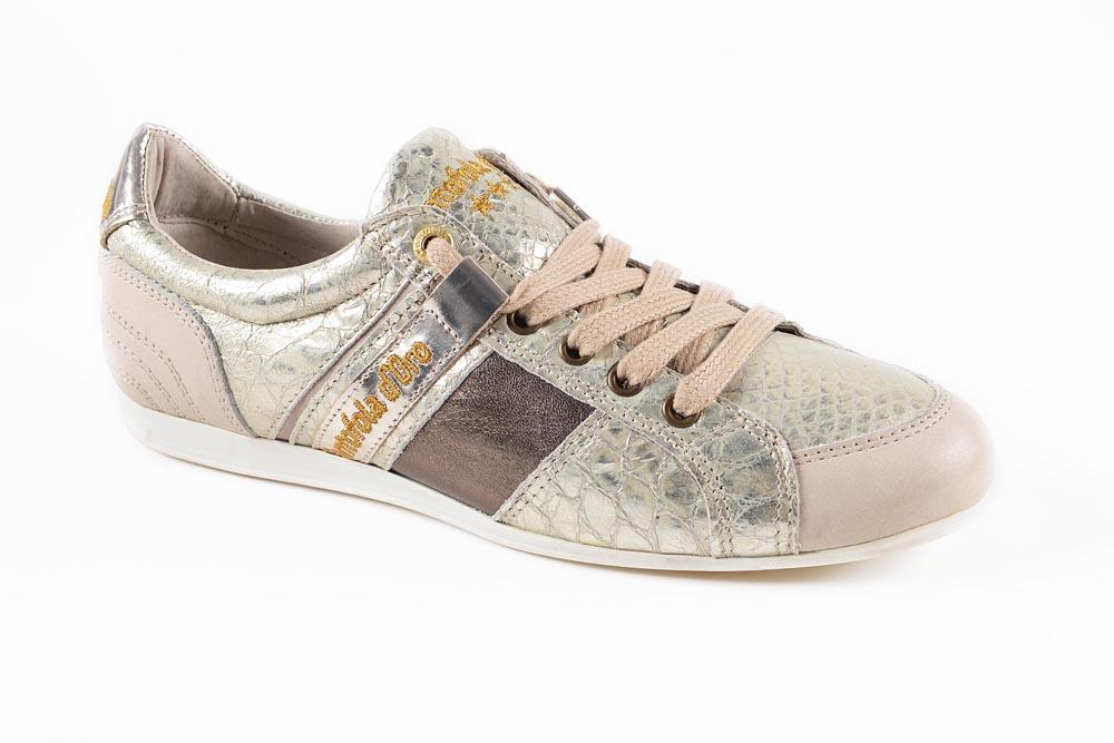 pantofola d oro damen sneaker schuhe 29 teil leder pesaro low champange gr e 37 ebay. Black Bedroom Furniture Sets. Home Design Ideas