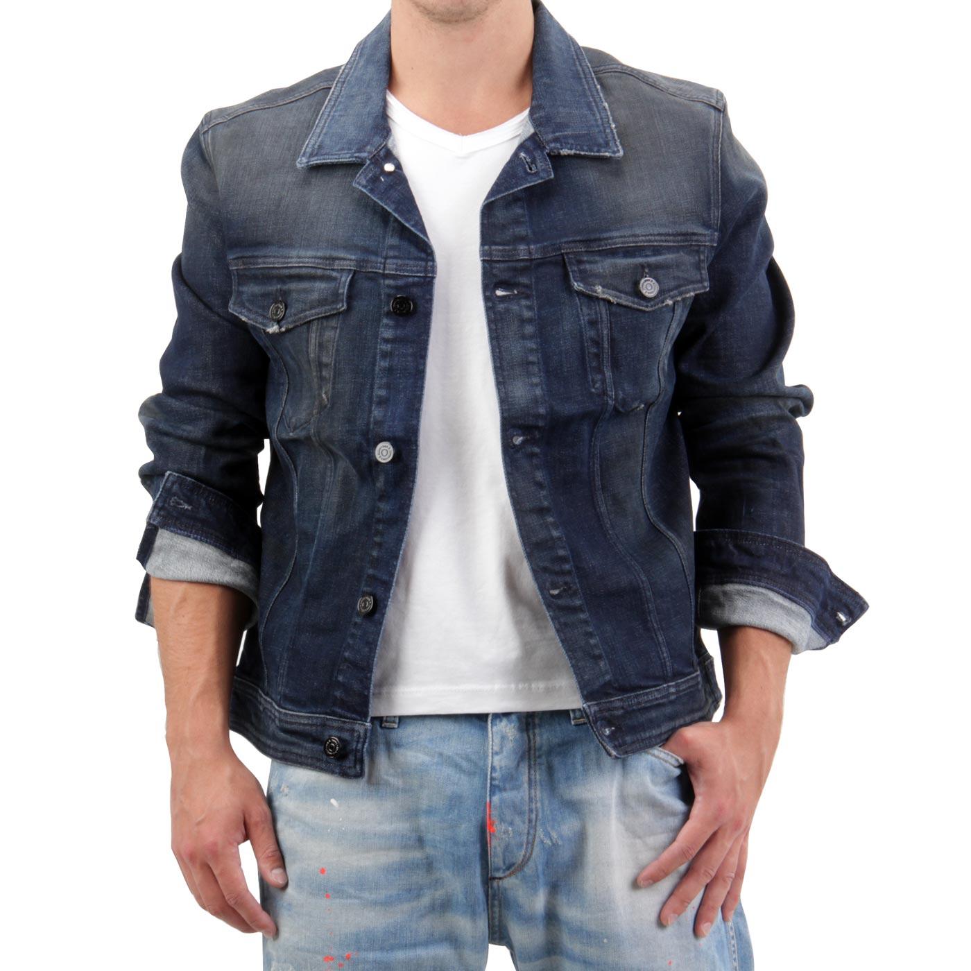 jack jones herren jeans jacke jeansjacke jean comfort. Black Bedroom Furniture Sets. Home Design Ideas