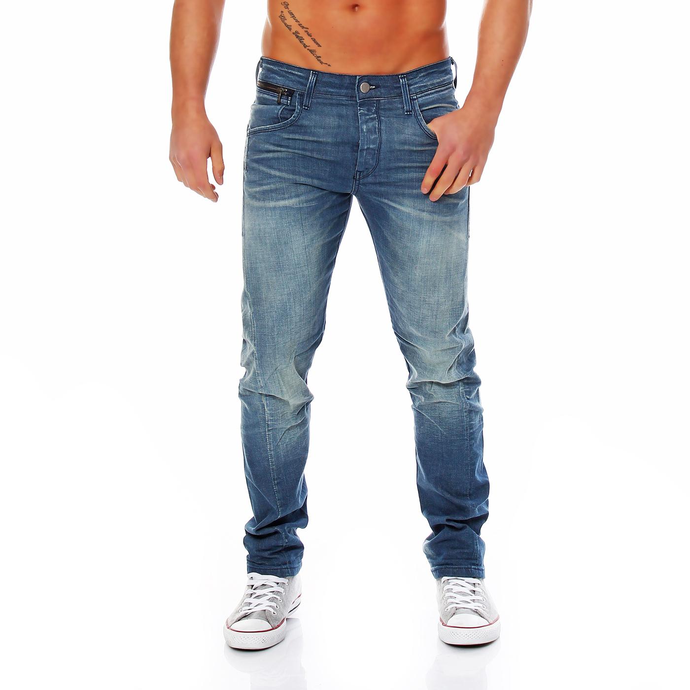 jack jones herren jeans hose nick lab comfort blue bl421. Black Bedroom Furniture Sets. Home Design Ideas