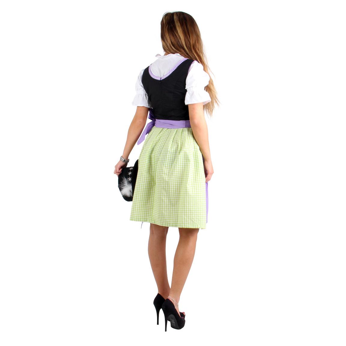 Vestido de mujer burda vestido dirndl