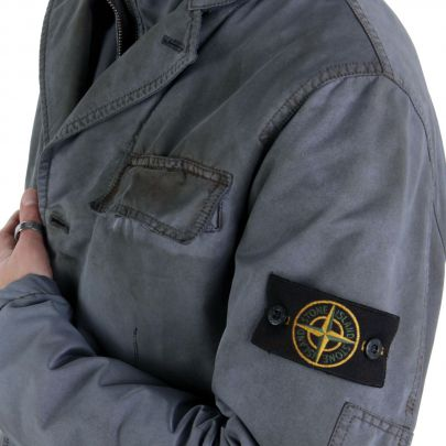 stone island herren winter jacke vintage grey a0550 2 wahl gr e l ebay. Black Bedroom Furniture Sets. Home Design Ideas