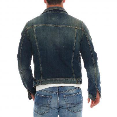 jack jones herren jeans jacke o colin denim blue jc140 2. Black Bedroom Furniture Sets. Home Design Ideas