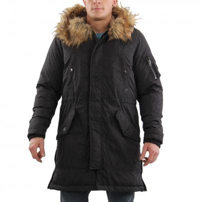 diesel herren winter parka mantel jacke w asily black 00ssfi 2 wahl gr e m ebay. Black Bedroom Furniture Sets. Home Design Ideas