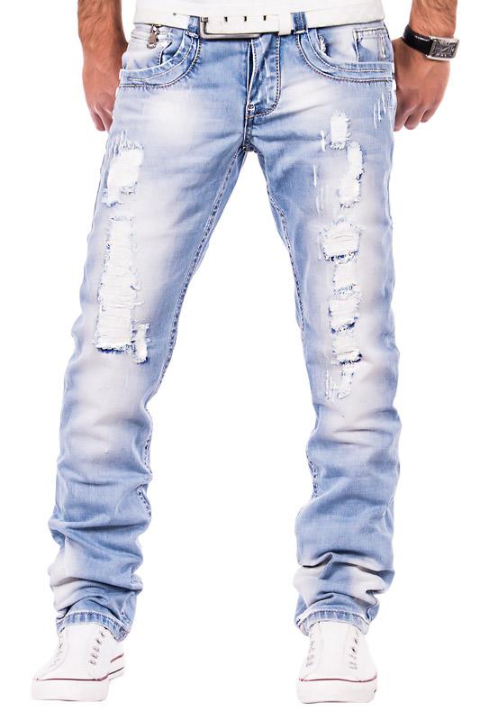 Herren jeans zerrissen