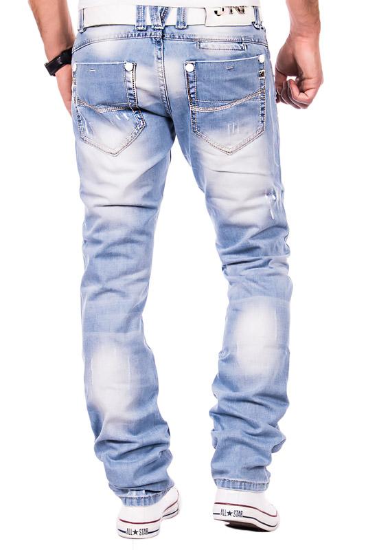 jeansnet herren jeans clubwear verwaschen zerrissen hose. Black Bedroom Furniture Sets. Home Design Ideas