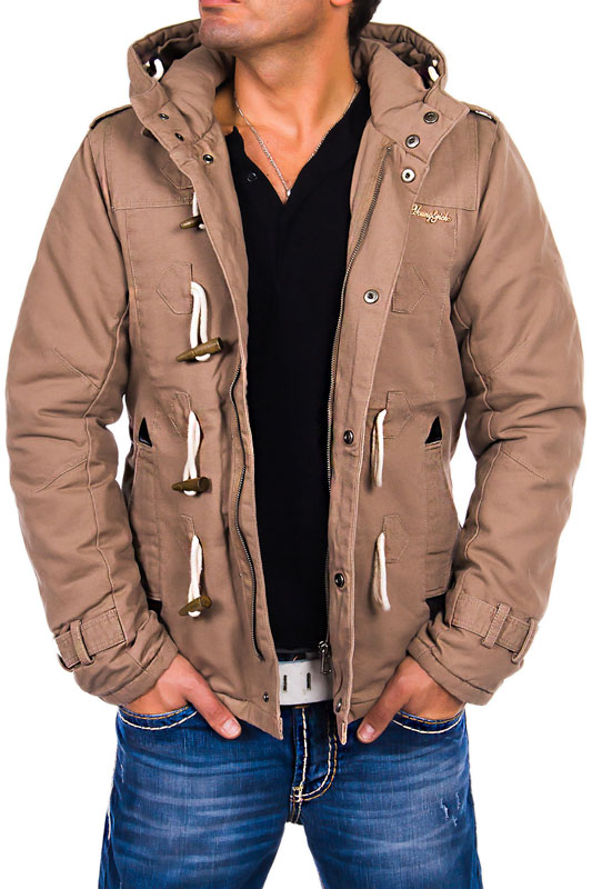 young rich headline herren warme winter mantel winterjacke parka kapuze jacke ebay. Black Bedroom Furniture Sets. Home Design Ideas