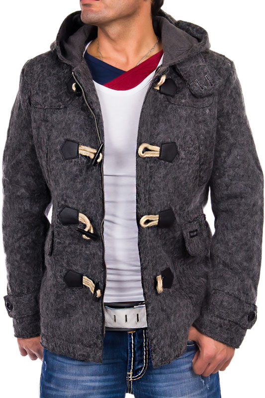 young rich headline hdl herren winter fleece jacke. Black Bedroom Furniture Sets. Home Design Ideas