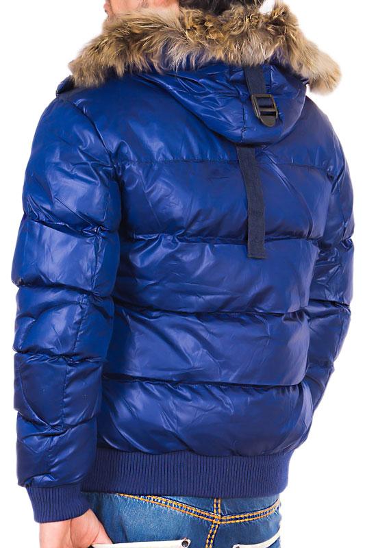 tazzio herren warme winterjacke kapuze gef ttert clubwear. Black Bedroom Furniture Sets. Home Design Ideas