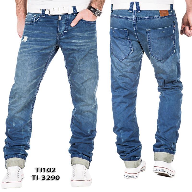 timezone herren straight leg jeans haroldtz rough gr w36. Black Bedroom Furniture Sets. Home Design Ideas