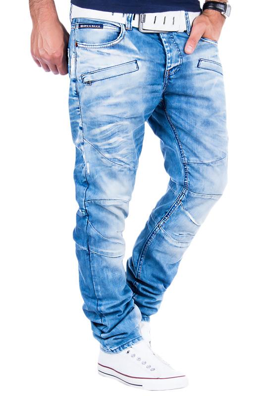 cipo baxx jeans clubwear chino denim herren hose vintage. Black Bedroom Furniture Sets. Home Design Ideas