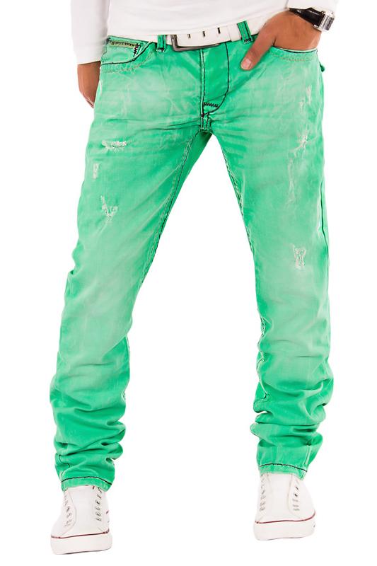 cipo baxx herren jeans chino hose farbig verwaschen used. Black Bedroom Furniture Sets. Home Design Ideas
