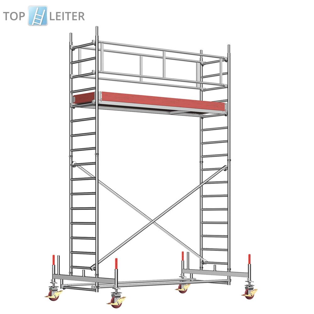 layher rollger st uni standard 5 35m ah fahrger st aluger st rollr stung ebay. Black Bedroom Furniture Sets. Home Design Ideas