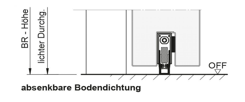 1250x2250 rechts t30 rs brandschutzt r rauchdicht mit absenkbare bodendichtung ebay. Black Bedroom Furniture Sets. Home Design Ideas