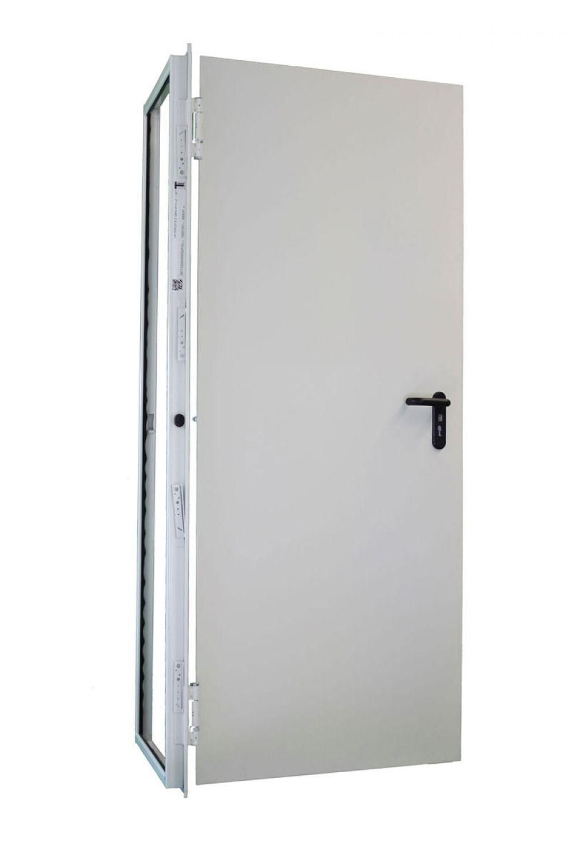 1000x1875 Stahl  Sicherheitstür Mit WK2 RC2 Zulassung Kellertür Zwischentür  Tür