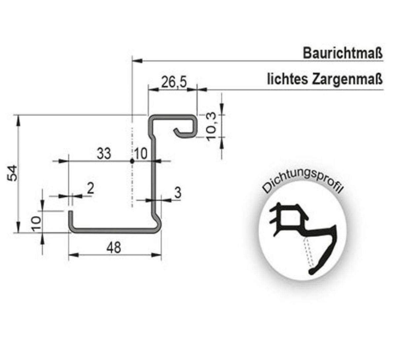 1125x2125 links t30 rs brandschutzt r rauchdicht mit schleifdichtung teckentrup ebay. Black Bedroom Furniture Sets. Home Design Ideas