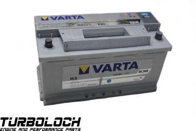 varta silver dynamic h3 starter batterie 12v 100ah 830a 22. Black Bedroom Furniture Sets. Home Design Ideas
