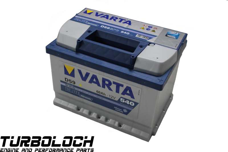 varta blue dynamic d59 batterie de d marrage 12 v 60ah 540 a 14 1 kg 560409054 ebay. Black Bedroom Furniture Sets. Home Design Ideas