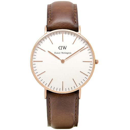 daniel wellington uhr damenuhr st andrews rose gold. Black Bedroom Furniture Sets. Home Design Ideas
