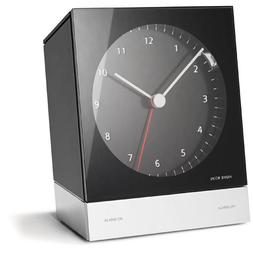 jacob jensen design quarz wecker alarm clock 341 ebay. Black Bedroom Furniture Sets. Home Design Ideas