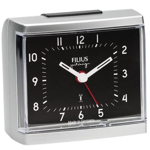 filius funkwecker analoge anzeige lautlos made in germany 052502 ebay. Black Bedroom Furniture Sets. Home Design Ideas