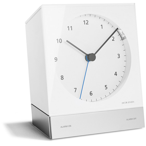 jacob jensen funkwecker design funk wecker alarm clock. Black Bedroom Furniture Sets. Home Design Ideas