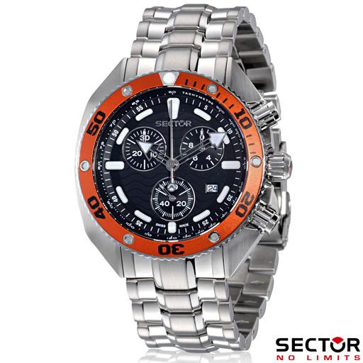 Sector uhr ocean master chronograph taucheruhr r3253966125 ebay - Sector dive master istruzioni ...