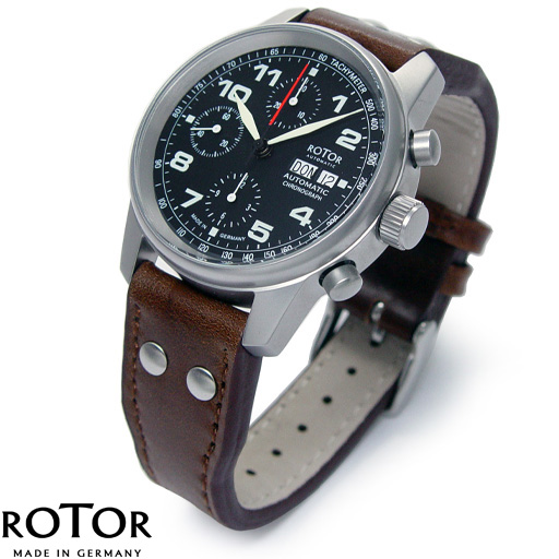 rotor uhr chronograph masterchrono no 1 10r41hb ebay. Black Bedroom Furniture Sets. Home Design Ideas