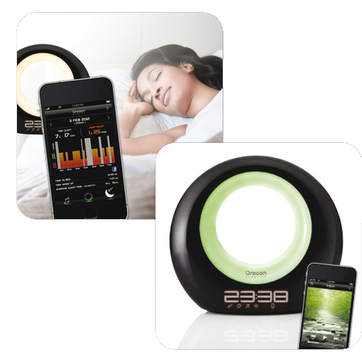 oregon scientific wl201 wake up light mit smartphone steuerung ebay. Black Bedroom Furniture Sets. Home Design Ideas