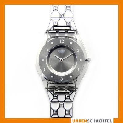 Swatch-Uhr-Skin-ELEGANTLY-FRAMED-SFK356G-NEU