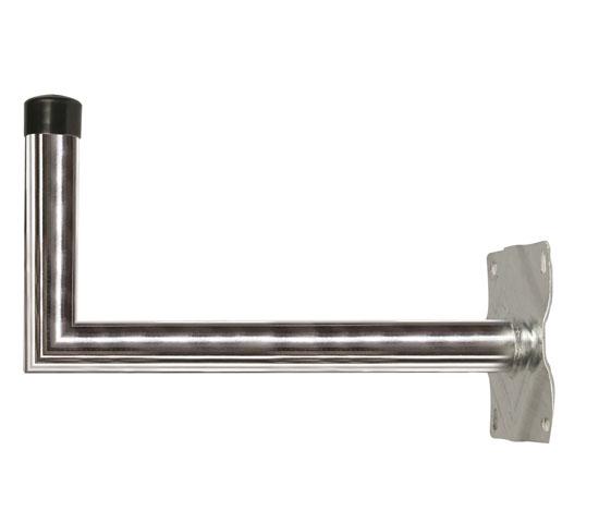 wandhalterung f r sat sch ssel spiegel stahl verzinkt winkel 25 x 25 cm. Black Bedroom Furniture Sets. Home Design Ideas