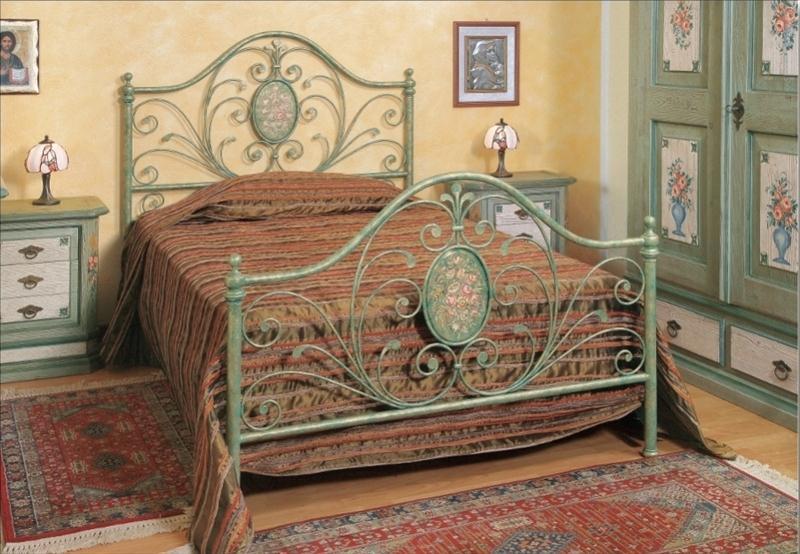 t1 eisenbett metallbett barbara bett 100 140 x 200 220 doppelbett italien luxus ebay. Black Bedroom Furniture Sets. Home Design Ideas