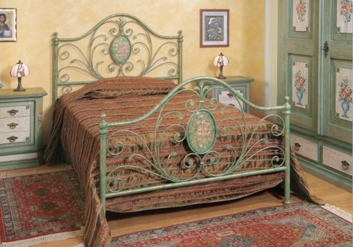 120x200 bianca metallbett jugendbett einzelbett metall. Black Bedroom Furniture Sets. Home Design Ideas