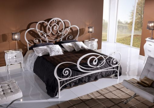 200x200 celina metallbett futonbett doppelbett metall designer bett italien t2 ebay. Black Bedroom Furniture Sets. Home Design Ideas