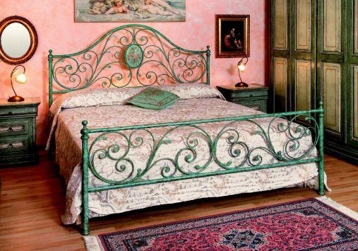 140x200 luna eisenbett himmelbett doppelbett metall designer bett italien t2 ebay. Black Bedroom Furniture Sets. Home Design Ideas