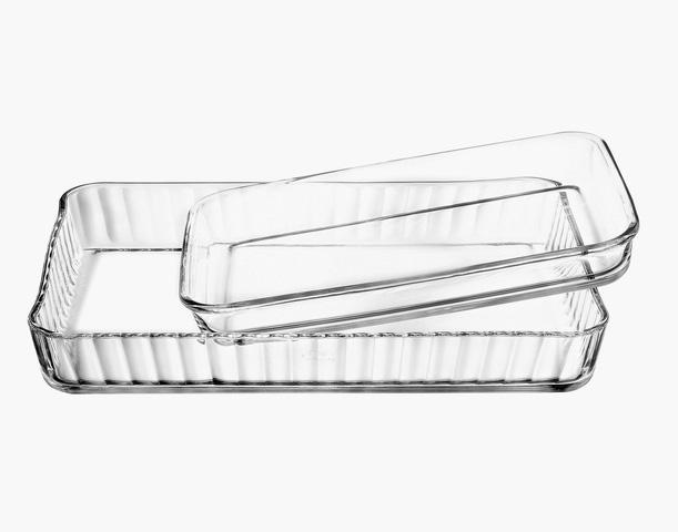 borcam glas backform auflaufform servierform glasform pasabahce ebay. Black Bedroom Furniture Sets. Home Design Ideas
