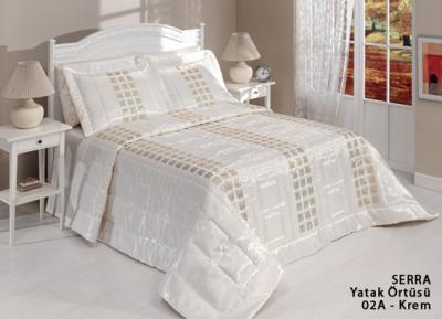 diley bettdecke serra creme tagesdecke bett berwurf set. Black Bedroom Furniture Sets. Home Design Ideas