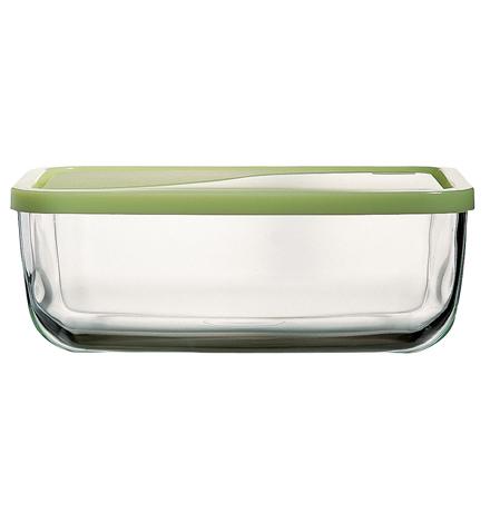 2x frischhaltedose aus glas mit deckel aufbewahrung vorratsbeh lter schale neu ebay. Black Bedroom Furniture Sets. Home Design Ideas